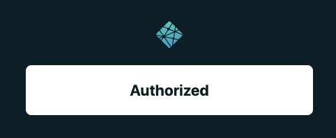 Netlify authorised